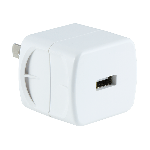 GE 1-USB Wall Charger, White