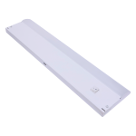 GE 12in. Direct Wire LED Under Cabinet Light Fixture, White