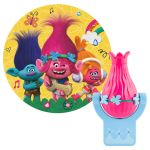 Trolls Projectables LED Light Sensing Night Light, Poppy Figure