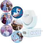 Projectables Disney Frozen II Plug-In Light Sensing 6-Image LED Night Light, Blue