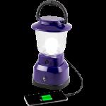 Enbrighten LED 6D USB Charging Lantern, Purple