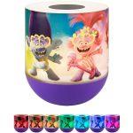 Universal Trolls World Tour Color Changing Tabletop LED Night Light, Purple