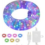 UltraPro Escape Indoor/Outdoor LED Rope Light, 16ft., Color Changing