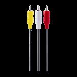 Philips 6 ft. Composite Audio/Video Cable, Black