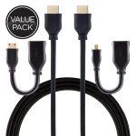 Philips Universal HDMI Kit, Black